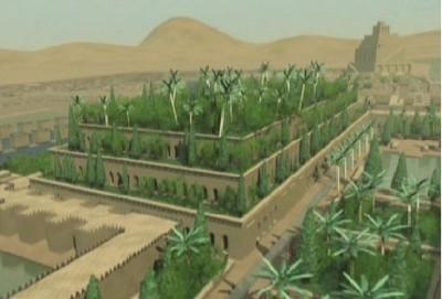 Wiszące ogrody Babilonu – próba rekonstrukcji